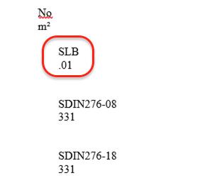 Inkorrekte Leistungsbereichsnummern